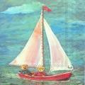 салфетки - морски